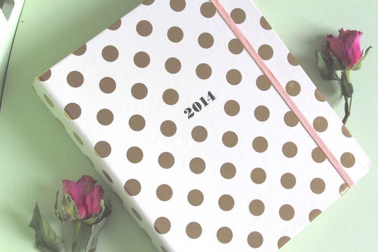 Kate Spade journal + polka dots. Consider it perfect for me. www.katespade.com