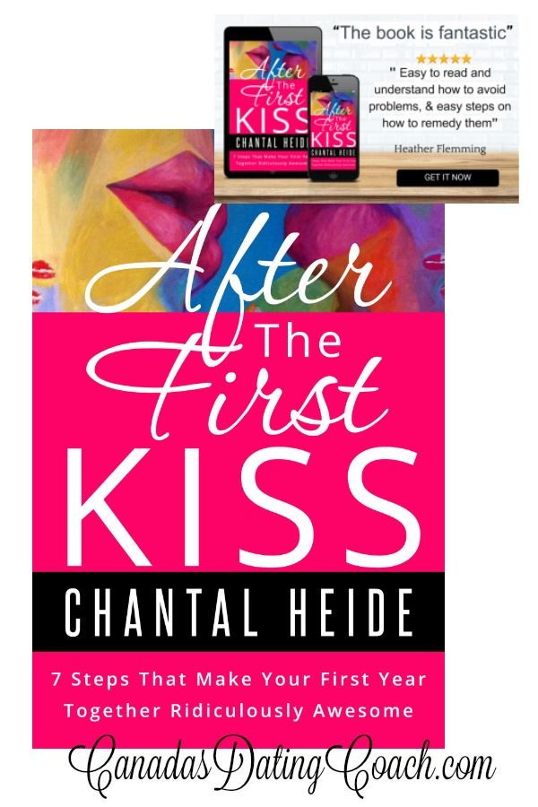 After The First Kiss 9 95 By Canada S Dating Coach Chantal