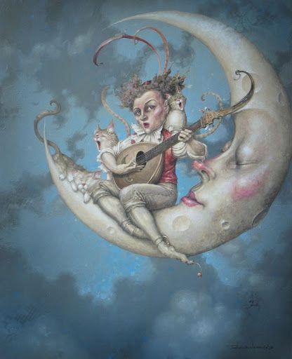 'Moon Song' by Daniel Merriam.