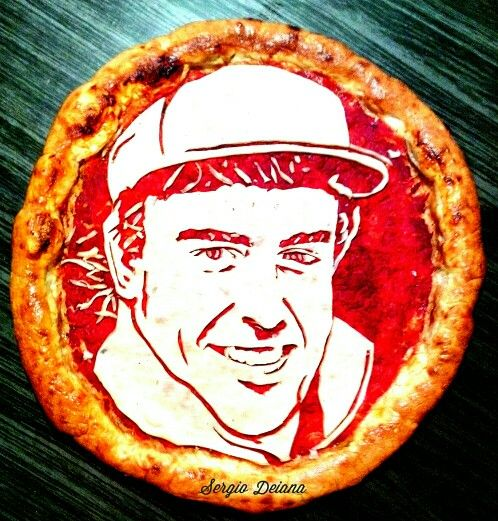 Alonso pizza!!! By Sergio Deiana!!