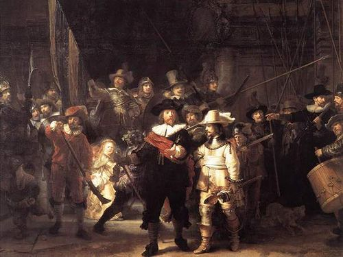 https://flic.kr/p/NFagn | rembrant - night watch | rembrant - night watch - one good painting