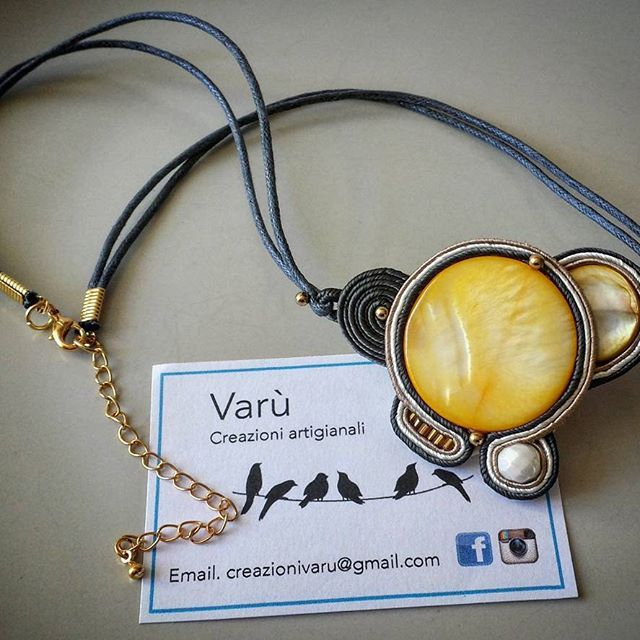 Less is more.. #varù #soutache #soutachemania #creazioniartigianali #handmade