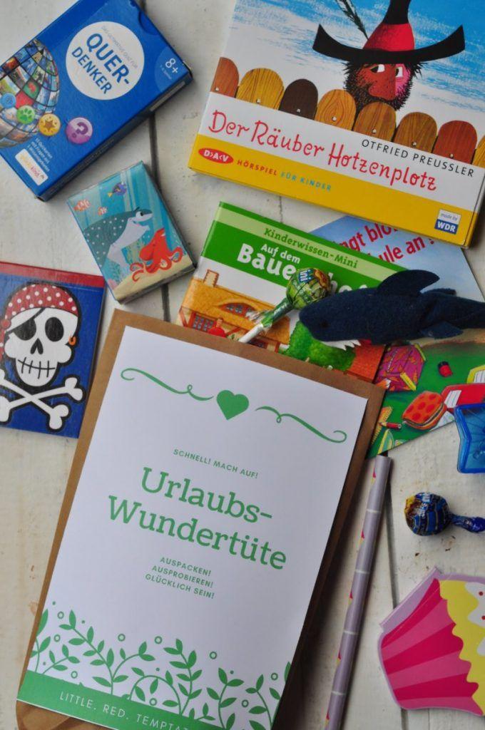 Entspannt mit Kindern verreisen: die Urlaubstüte - jede Menge Freude für unterwegs
