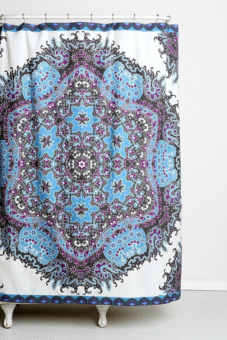 150 best shower curtains images on Pinterest   Bathroom, Bathroom ...