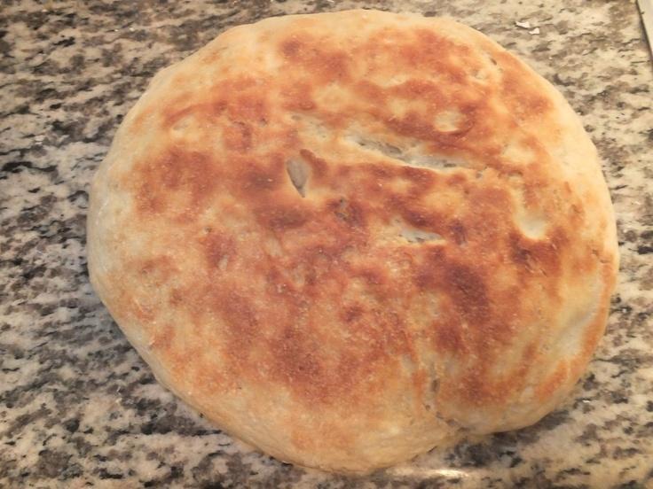 The Work of Creation: No Knead Crock-Pot Artisan Bread