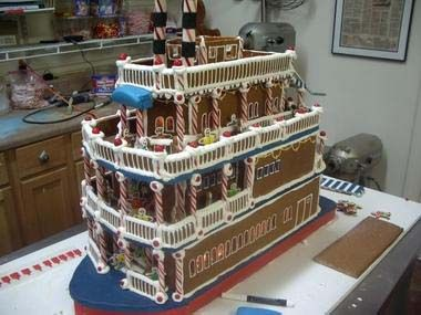 274 best Custom Christmas Gingerbread houses made to order