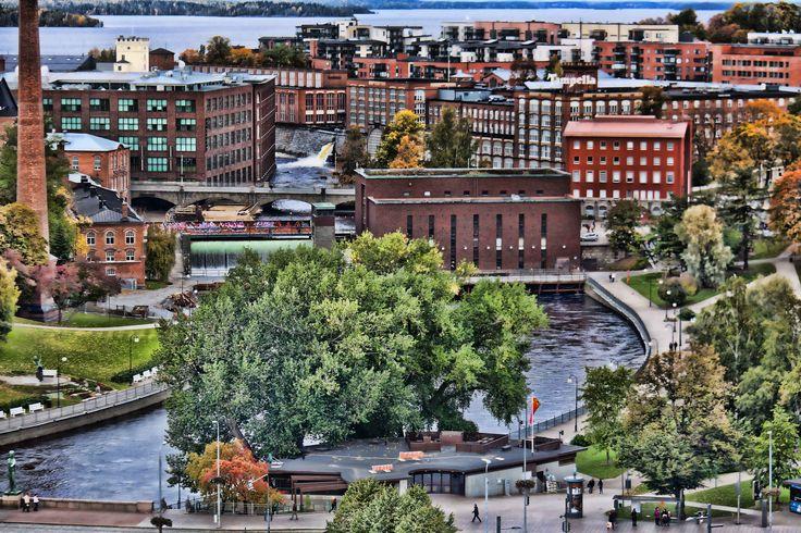 Tampere Kansallismaisemaa.
