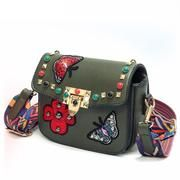 I just got my bag today and it.is.gorgeous!  This bag is small but the quality is fantastic! I could fit my phone, small makeup bag, sunnies, and keys. #smallpurse #crossbody #applique Trendy Boho Fashion Embroidered Applique Crossbody Bag – Sparkle City Co.