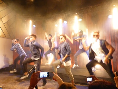 A special performance - Justice Crew - First Night..!