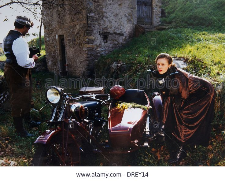 Old Motorbike, Moto Guzzi,woman,old Style,man,photographer,mandello Stock Photo, Picture And Royalty Free Image. Pic. 66096720