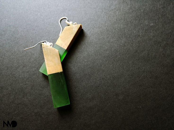 Simple earrings.