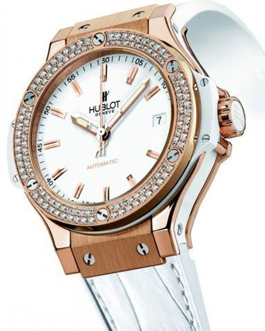 Hublot watch with diamonds / To be more luxurious visit www.luxxu.net #luxuryfashion #luxurywatches #modernwatches, expensive watches brands, watch store