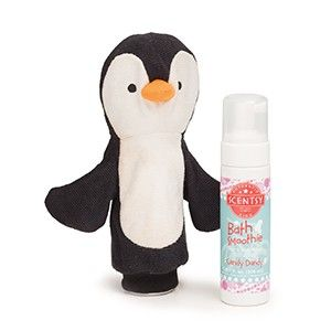 Percy the Penguin - Scentsy Scrubby Buddy & Bath Smoothie
