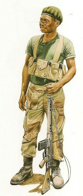 1979, guerrilla Rhodesian patriotic front, pin by Paolo Marzioli