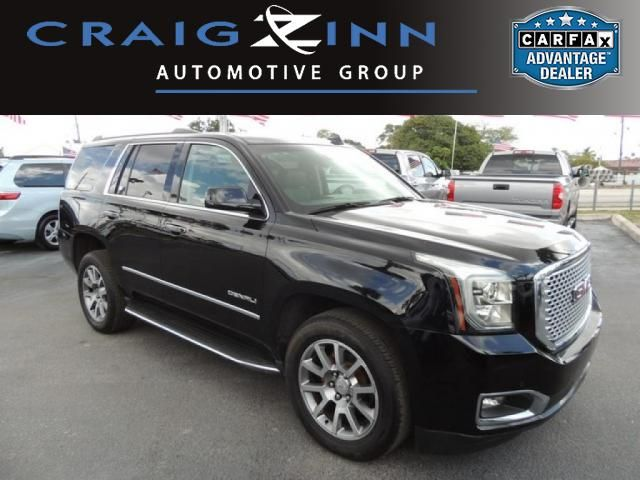 New Arrival! CarFax 1-Owner, This 2016 GMC Yukon Denali will sell fast -Backup Camera -Navigation -Leather -Bluetooth -Push Button Start -Auto Climate Control -Power Lift Gate -3rd Row Seating -Aux. Audio Input -Active Suspension ABS Brakes -Power Seat -Automatic Headlights -Heated Front Seats -Heated Rear Seats -Cooled Front Seats -AM/FM Radio -Rear Bucket Seats -Parking Sensors Based on the excellent condition of this vehicle, along with the options and color, this GMC Yukon is sure to…