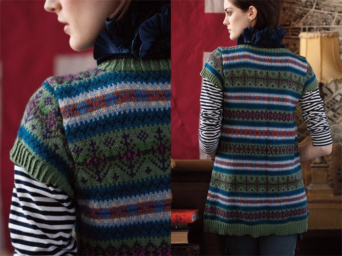 14 best Fair isle patterns images on Pinterest | Knitting charts ...