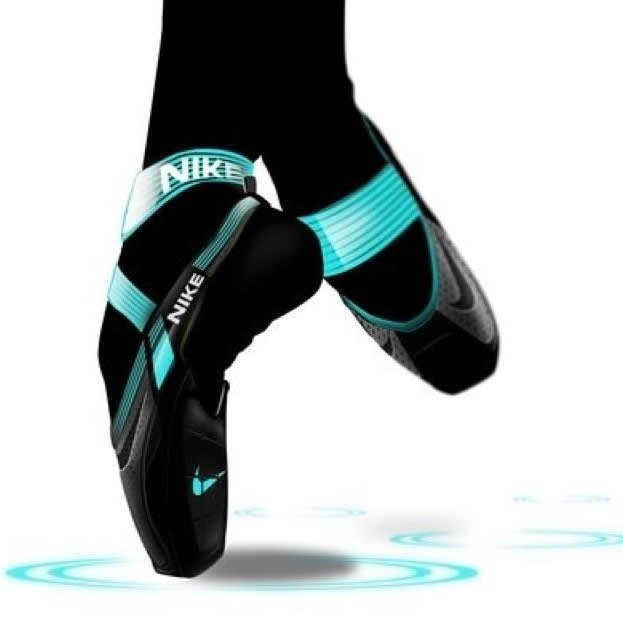 A Nike point shoe??? Very interesting. Perhaps I can now combine my love for running and dance ;)