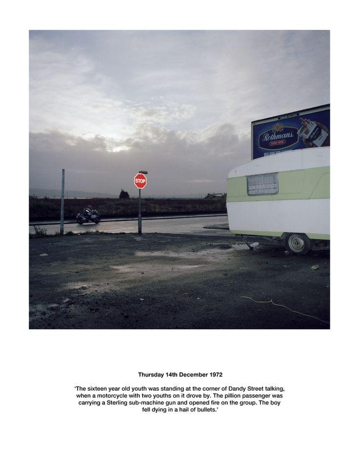 Paul Seawright - Sectarian Murder (Belfast, Northern Ireland)