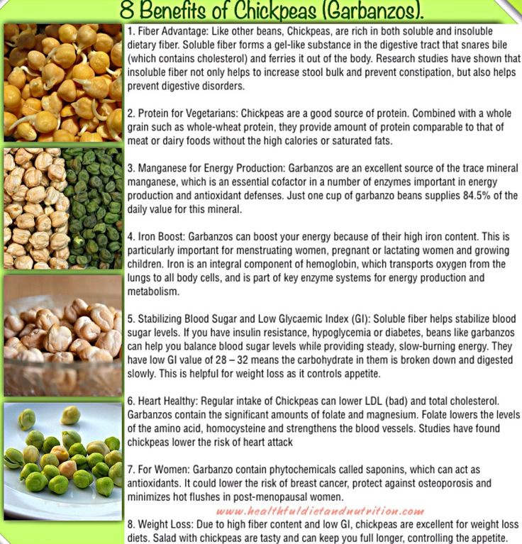 8 Benefits of Chickpeas (Garbanzos)