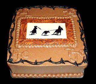 Western/cowboy wedding ideas | Connie's CakeBox: Cowboy Western Styles and Ideas