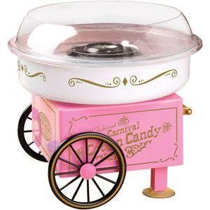Nostalgia Electrics Vintage Collection Hard & Sugar Free Cotton Candy Maker