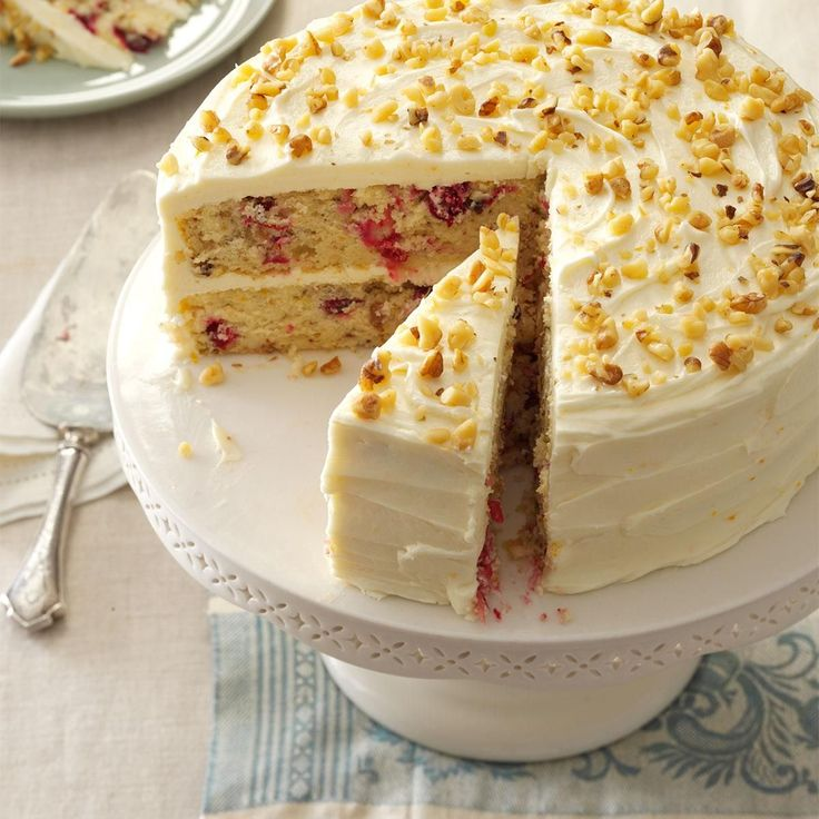 Lemon Cranberry Crumb Cake