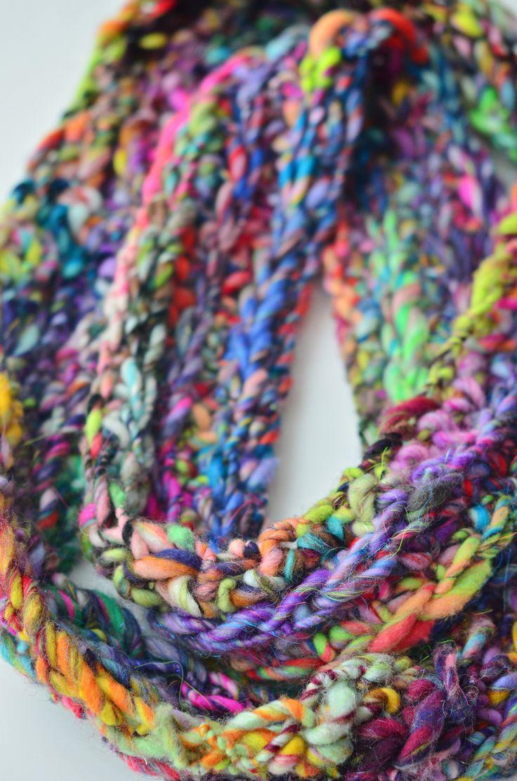 Knitting Handspun Yarn : Handspun yarn knit and crochet projects pattern