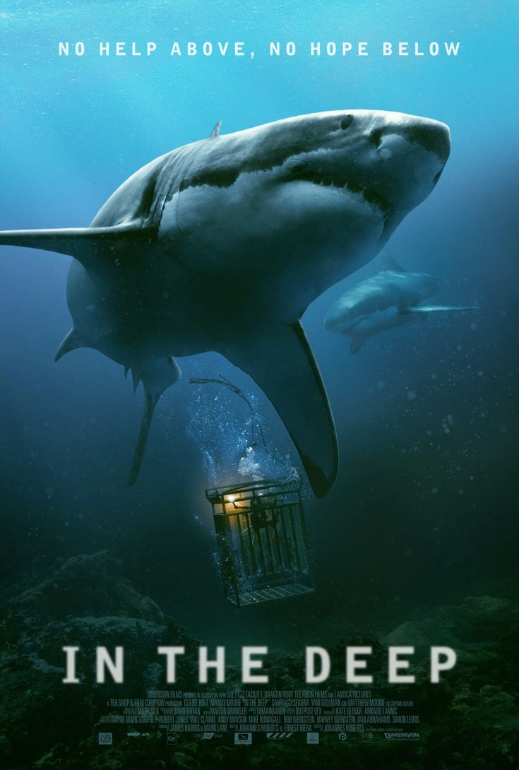 In The Deep brings us another shark movie. Check out the new poster. Details here