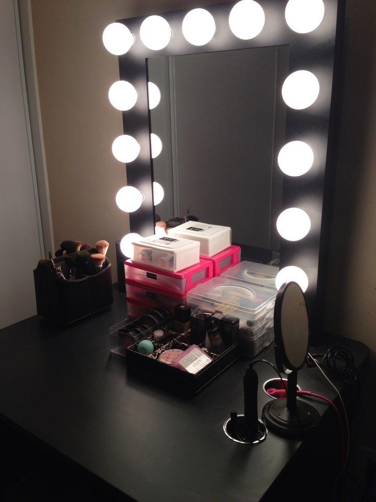 Vanity set77 best Vanity make up images on Pinterest   Home  Makeup storage  . Vanity Girl Makeup Desk. Home Design Ideas