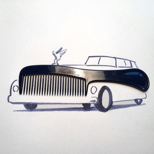 Sunday sketching double header part 1: #car