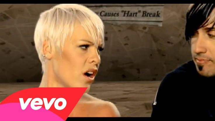 So What ~ Pink   Brilliant move to have her estranged (at the time) husband in the video.  Made it more of a joke and not bitter and guess what they got back together