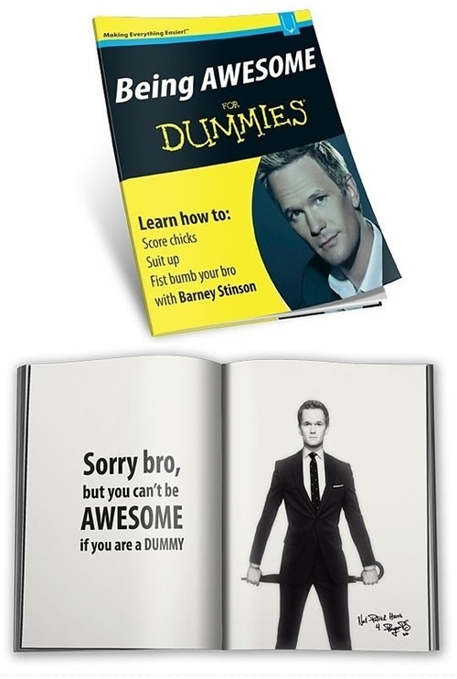 Being Awesome for Dummies.
