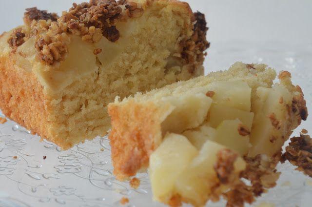 MY FOOD или проверено Лизой: Воздушный яблочный кекс с хрустящей корочкой
