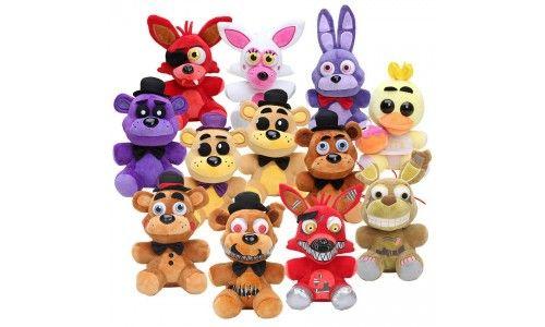 Мягкая игрушка FNAF (Five Nights at Freddy's)- это один из тех брендов, которые обожают дети по всему миру. Игрушка  ФНАФ станет отличным подарком для Вашего ребенка! Купить игрушки из серии Пять ночей с Фредди