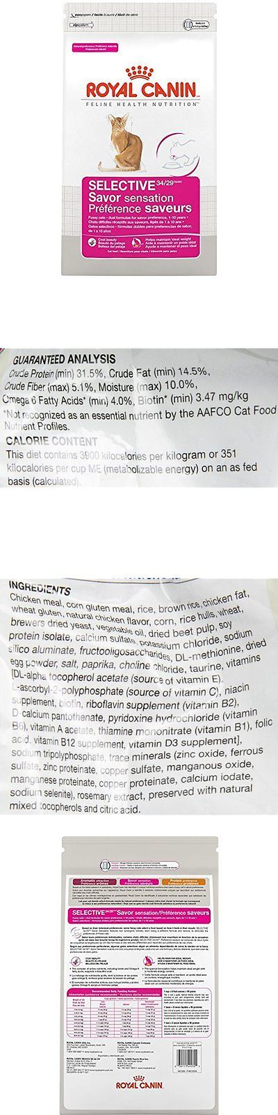 Cat Food 63073: Sale Royal Canin Feline Health Nutrition Savor Selective Dry Adult Cat Food -> BUY IT NOW ONLY: $30.75 on eBay!