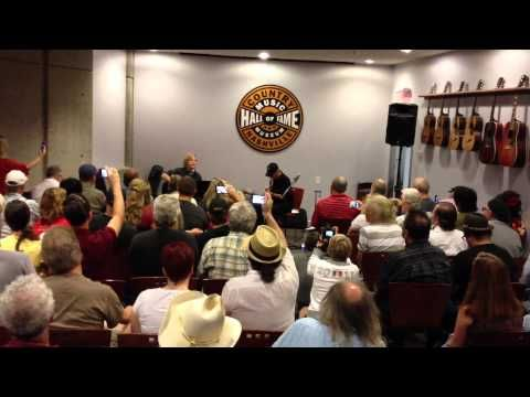 James Burton and Gunnar Eric Nelson at CMHoF - YouTube   It's Matthew Nelson not Gunnar Nelson performing with James  Burton