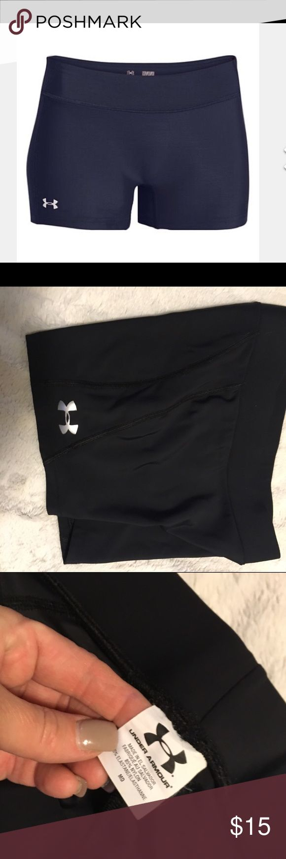 Ladies Under Armour shorts Spandex workout shorts by Under Amour sz medium like brand new 🔥🔥 Under Armour Shorts