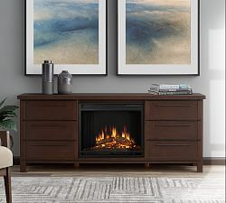 Real Flame® Marlowe Electric Fireplace Media Cabinet