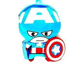 Marvel Captain America Plush 3D Novelty Backpack. #Marvel #Captain #America #Plush #Novelty #Backpack