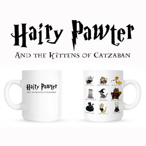 Harry Pawter Limited Edition Parody Mug – Crazy Cat Lady Clothing-----> @mynameisrobin YES!!! SO PERFECT FOR YOU!!!!