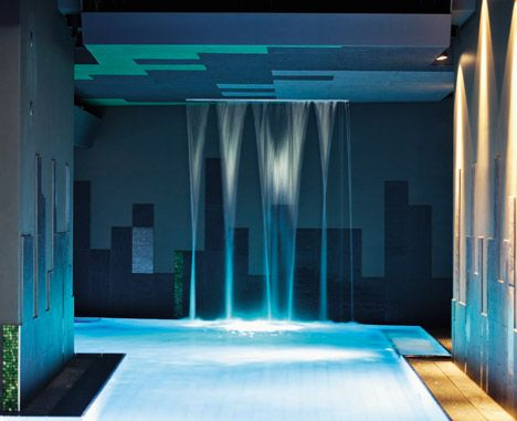 Therme Wien by 4a Architekten: Design Spa, Vienna, Beautiful, Pool Spa, Places Spaces