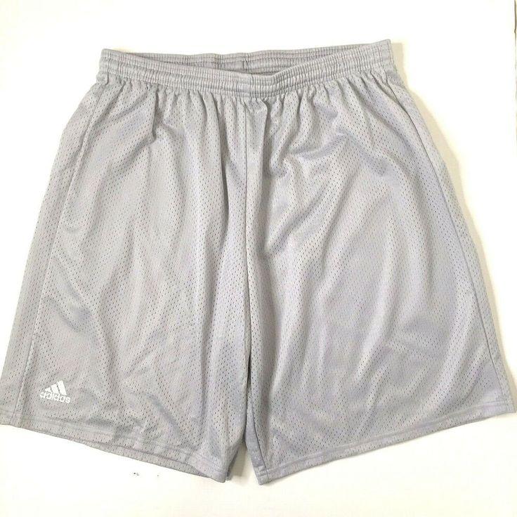 Adidas Men's 2XL Lined Mesh Player Shorts Training