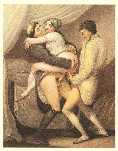 18th century themed mmf threesome 5