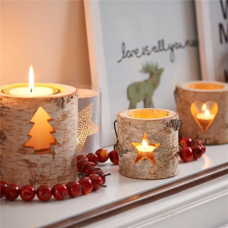 Velas navideñas para tu living-room