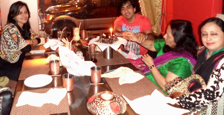 Hafiza Mistry & Asif Mistry jointly celebrating their birthday at The Golconda Bowl, Bandra (W)