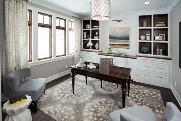 Endearing Two Person Desk Home Office Build Magnificent Home Office Design Gallery Wonderful Element Ambience: Contemporary Home Office Great Home Office Decoration Handsome Home Office Desk Modern Mediterranean Style ~ francotechnogap.com Home Office Inspiration
