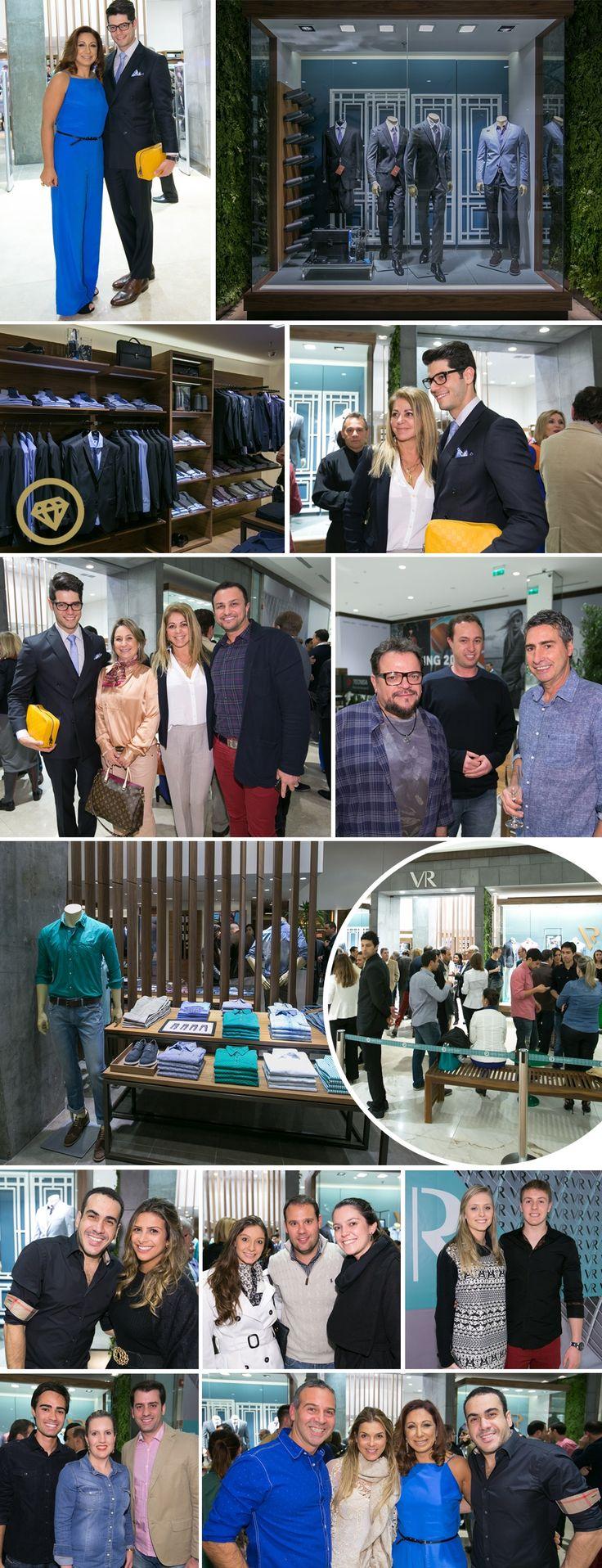 Hi, Buddies, Estou procurando as palavras certas para descrever o enorme sucesso que foi a inauguração da VR Menswear, no shopping Pátio Batel, em Curitiba, mas está difícil… Então vou