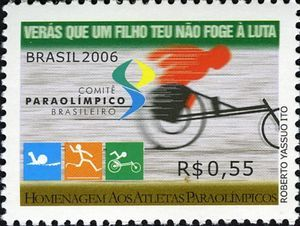 Homage to the Paralympic Athletes