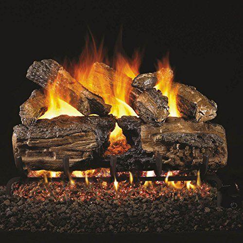 Peterson Real Fyre 24-inch Burnt Split Oak Log Set With Vented Natural Gas Ansi Certified G46 Burner  Variable Flame Remote For Sale https://outdoorfirepitsreviews.info/peterson-real-fyre-24-inch-burnt-split-oak-log-set-with-vented-natural-gas-ansi-certified-g46-burner-variable-flame-remote-for-sale/