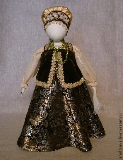 """Народные куклы ручной работы. Ярмарка Мастеров - ручная работа традиционная кукла-столбушка """"Серафима"""". Handmade."""